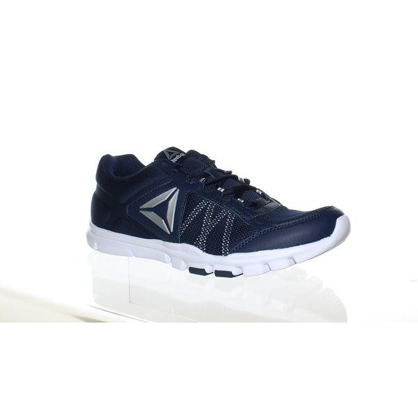 273c25c0ba2205 Shop Reebok Mens Yourflex Train 9.0 Mt Blue Running Shoes Size 13 ...