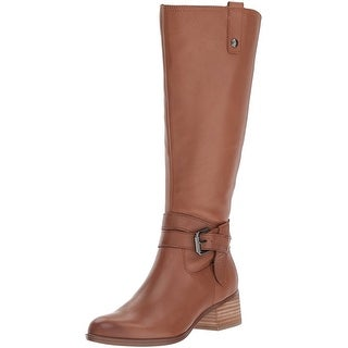 Naturalizer Womens Dev Leather Almond Toe Knee High Fashion Boots