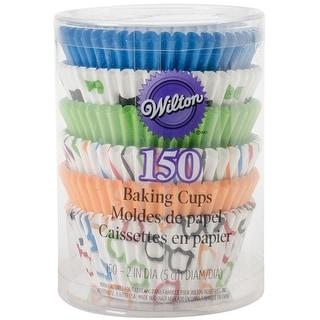 Standard Baking Cups-Glasses & Bows 150/Pkg - glasses & bows 150/pkg