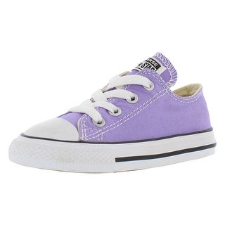 Converse Ctas Ox Athletic Girl's Shoes - 7 toddler m