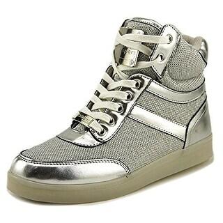 Bebe Sport Krysten Women Silver Sneakers
