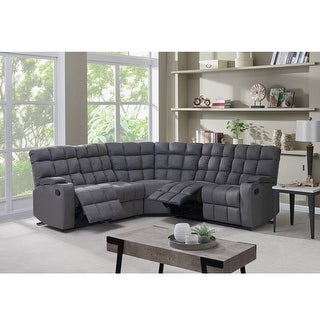 Link to Copper Grove Beilefeld 5 Seat Recliner Sectional with Wedge Similar Items in Living Room Furniture