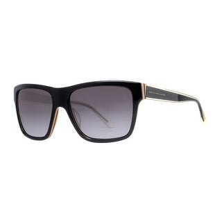 MARC JACOBS Square MMJ 380/S Unisex 0FJC Black Grey Sunglasses - 56mm-16mm-140mm