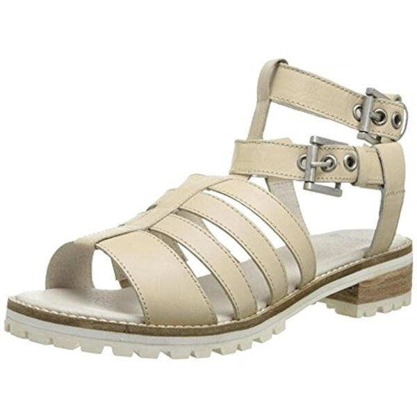 Bronx Womens Up Close Leather Gladiator Sandals