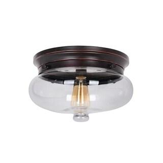 Craftmade 35081 Yorktown 1 Light Flush Mount Ceiling Fixture