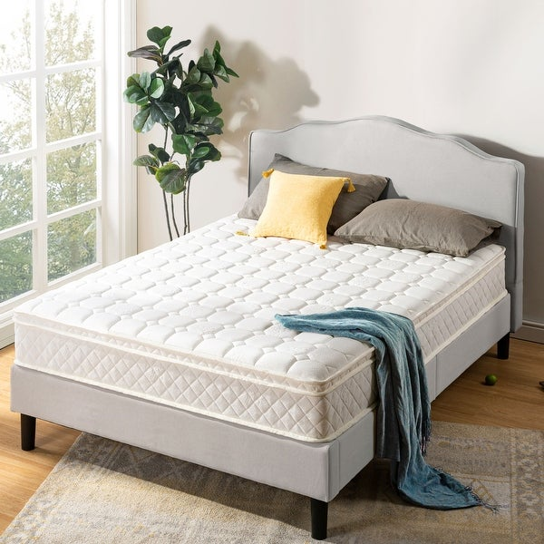 10 Inch Euro Top Pocket Spring Mattress - Crown Comfort. Opens flyout.