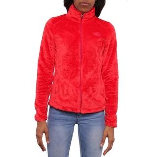 The North Face Women Osito 2 Fleece Jacket Basic Jacket Red/Plum