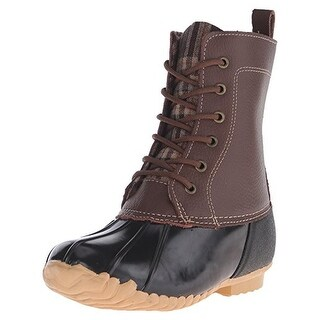 Sporto Womens Jessica Snow Boots Leather Ankle