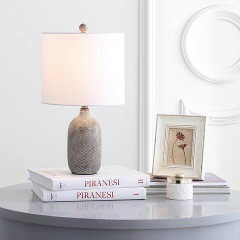 "SAFAVIEH Lighting Alvaro 19-inch LED Table Lamp - 10""x10""x18.5"""