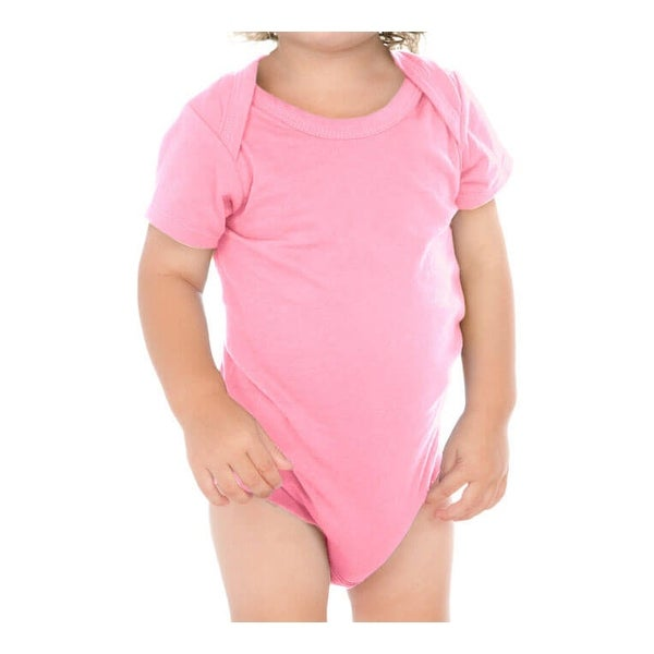 Kavio! Unisex Infants Lap Shoulder Short Sleeve