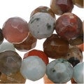 Gemstone Bead Lot Mix 6mm Faceted Round Beads - 15.5 Inch Strand - Thumbnail 0