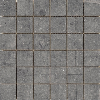 Emser Tile A85BLUE1212MO2M  Blue Emotion - Square Mosaic Wall Tile - Smooth Stone Visual