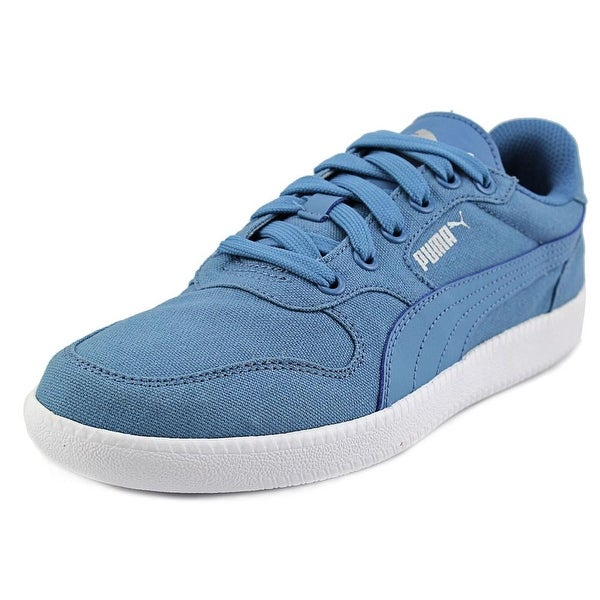 Puma Icra Trainer CV Men  Round Toe Canvas Blue Sneakers