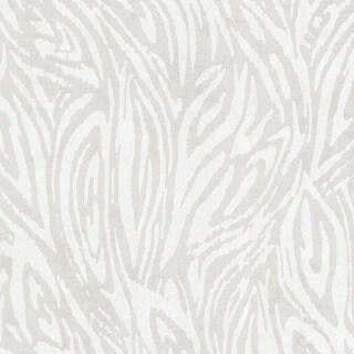 Brewster 2542-20726 Tempest Silver Abstract Zebra Wallpaper