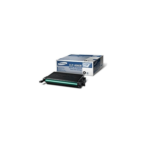 Samsung CLP-K660B High-Yield Black Toner Cartridge Toner Cartridge