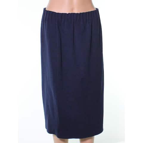 Halogen Elastic Waist Women's Medium Petite Pencil Skirt