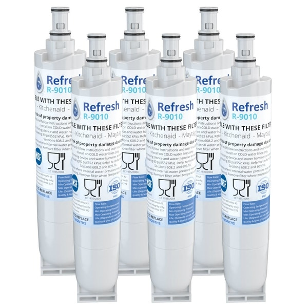 Shop Replacement Water Filter For Whirlpool Gs6shaxmb00 Refrigerator