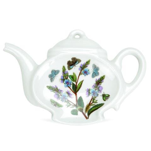 Portmeirion Botanic Garden Teapot Spoon Rest, Assorted Motifs - 5.5 inch