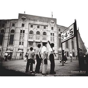 ''Yankee Boys, Yankee Stadium, Bronx NY'' by Corbis Archive Stadiums Art Print (24 x 32 in.)