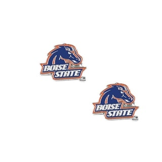 Boise State Broncos Post Stud Earring NCAA Charm Set