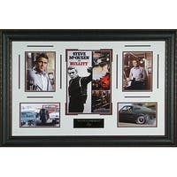 Steve McQueen unsigned Bullitt 24x37 Engraved Signature Series Leather Framed Photo entertainment