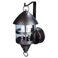 Heath Zenith HZ-4265 1 Light DualBrite Motion Activated Outdoor Lantern Wall Sconce