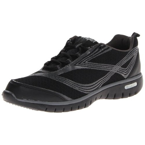 Propet Womens Travellite Walking Shoes Mesh Lace-Up