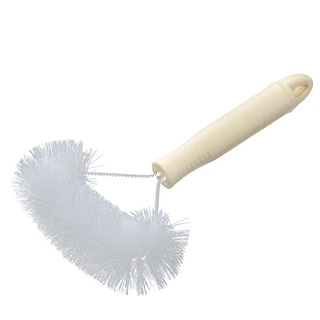 Home Plastic Multifunction Dust Removal Window Screen Brush Cleaner Tool White