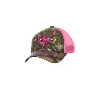 Cowgirl Up Western Hat Womens Trucker Adjustable OS Camo CGH5143