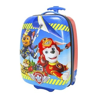 Nickelodeon Paw Patrol Hard Shell Rolling Backpack Luggage