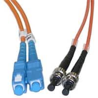 CableWholesale  Fiber Optic Cable  SC  ST  Multimode  Duplex