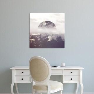 Easy Art Prints Laura Marshall's 'Reflected Landscape IV' Premium Canvas Art