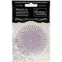Couture Creations Self-Adhesive Gemstones 2mm 424/Pkg-Wisteria