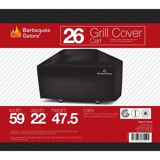"""Barbeques Galore 26"""" Grill Cover for Freestanding Gas Grill"""
