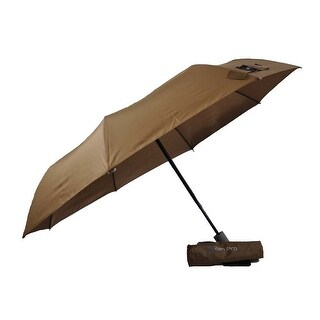Rain Pro Super Mini Brown Umbrella with Automatic Open Handle