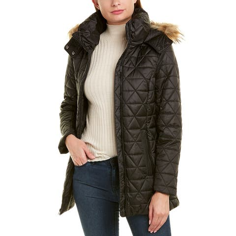Marc New York Pyramid Quilted Coat