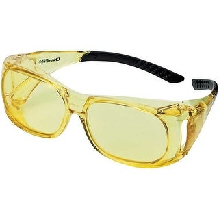 Vista 40634 champion over-spec ballistic glasses amber