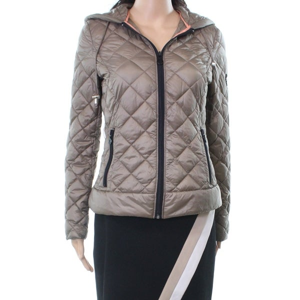 a3f1e9396ef6 Shop Bernardo Gray Women's Size XS Diamond Quilted Puffer Jacket - Free  Shipping On Orders Over $45 - Overstock - 26908824