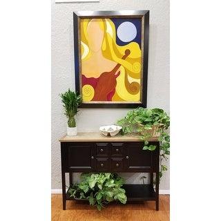 Safavieh Charlotte Black Storage Sideboard