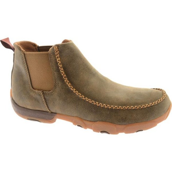 e6c2ac9d8a7 Shop Twisted X Boots Men's Chelsea MDMG002 Bomber Leather - Free ...