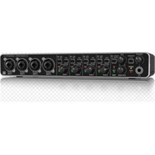 Audiophile 4 x 4 24-Bit 192 kHz USB Audio MIDI Interface with MIDAS