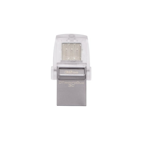 Kingston Dtduo3c/32Gb Digital 32Gb Data Traveler Micro Duo Usb Flash Drive