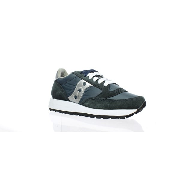 pretty nice 6f824 99f71 Shop Saucony Womens Jazz Original Navy/Silver Running Shoes ...