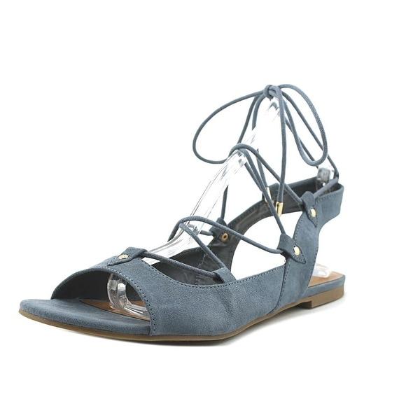 Indigo Rd. Cenie Women Open-Toe Synthetic Blue Slingback Sandal