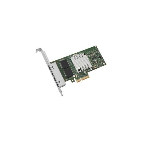 Intel E1G44HT Intel Ethernet Server Adapter I340-T4 - PCI Express - 4 Port - 10/100/1000Base-T - Internal - Low-profile,