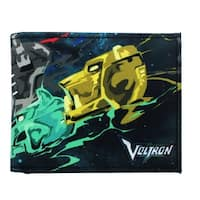 Voltron Lion Force Canvas Bi-Fold Wallet - Multi