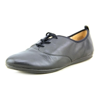Easy Spirit e360 Get Motion Women Round Toe Leather Black Oxford