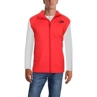The North Face Mens Bombay Outerwear Vest Spring Water Repellent - XL