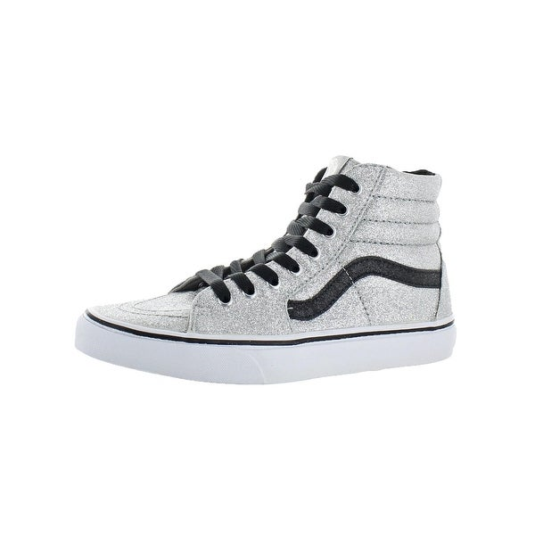 ff11a80f7f Shop Vans Womens Sk8-Hi(Glitter) Skate Shoes Fashion High Top - 9 ...