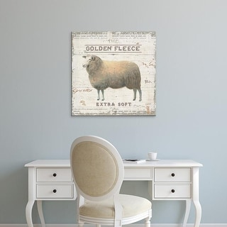 Easy Art Prints James Wiens's 'On the Farm IV' Premium Canvas Art